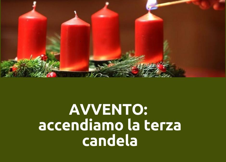 LA MIA CORONA DELL'AVVENTO: oggi accendo la terza candela. Le mie abilità