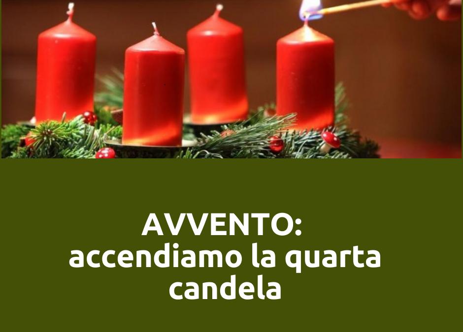 LA MIA CORONA DELL'AVVENTO: oggi accendo la quarta candela. I miei valori.